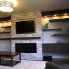 Decorating Ideas for Tv Over Fireplace