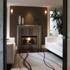 Fireplace Mantel Decor Contemporary